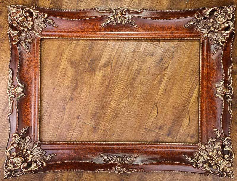 قاب تابلو فرش قاب چوبی |قاب دست ساز |قاب تابلوفرش |قاب | rhf