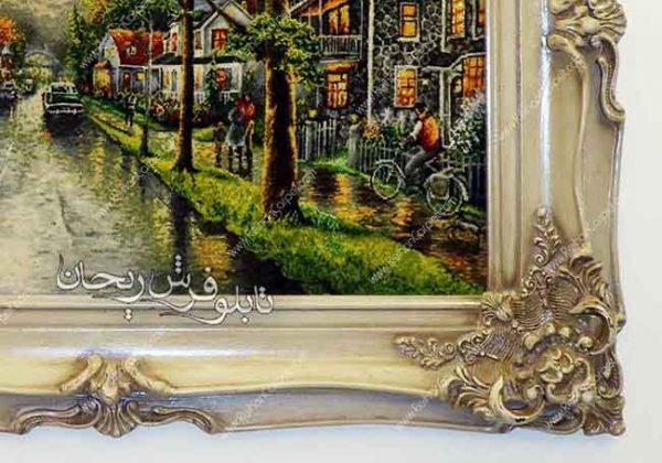 تابلو فرش دست باف شانزه لیزه - شانزالیزه - Champs-Elysées carpet tableau - Chase Liza carpet tableau