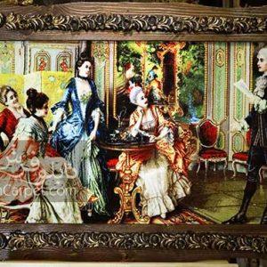شاعر جوان | تابلو فرش شاعر جوان | نقاشی فرانسوی | تابلوفرش ریحان | تابلو فرش | تابلو چاپی | تابلو فرش شاعر جوان | تابلو فرش دکوری | هدیه | هدیه لاکچری | کادو | تابلو فرش تزئینی |