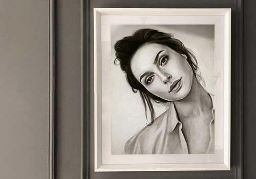 نقاشی پرتره | نقاشی سفارش | تبدیل عکس به نقاشی