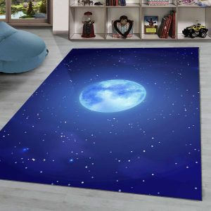 فرش ماشینی | فرش سفارشی | فرش اتاق کودک | فرش ماه و ستاره | فرش طرج چدید | فرش چا\ی | فرش آسمان | فرش فضایی