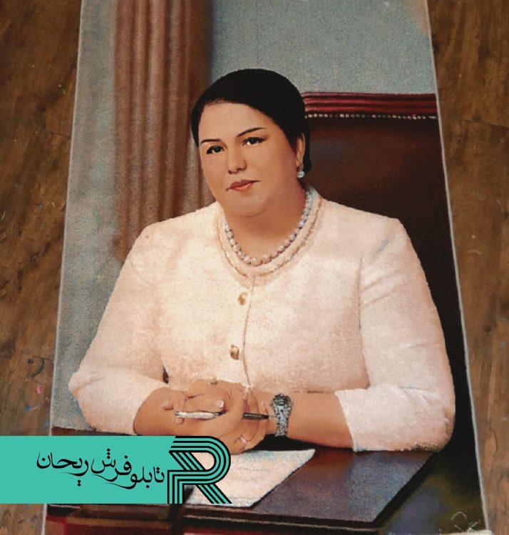تابلوفرش سفارشی کاخ ریاست جمهوری تاجیکستان