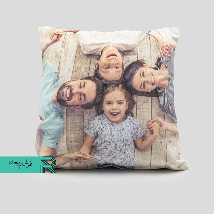 سفارش کوسن با تصویر شخصی خانوادگی